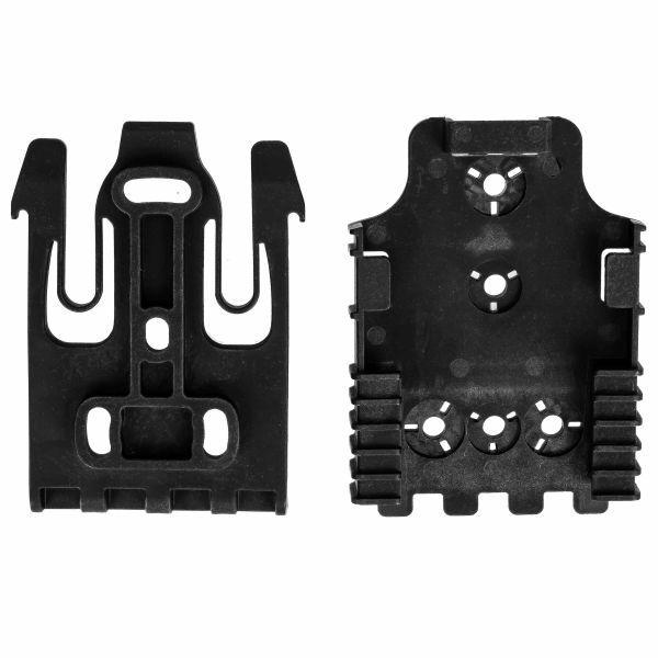 FMA Holster Adapter SL Quick Locking System Kit black