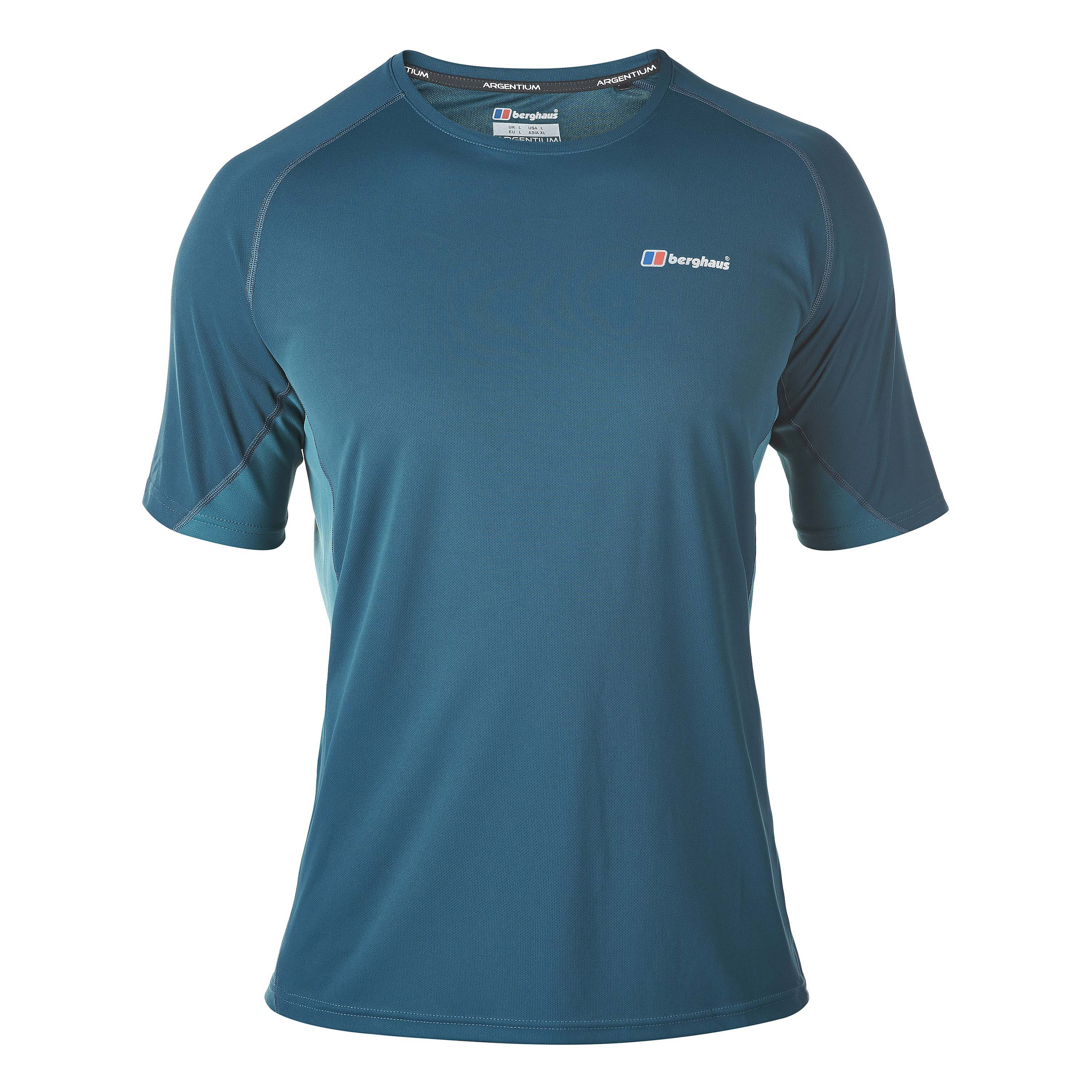 Berghaus T-Shirt Crew Neck Technical reflecting pond/blue coral
