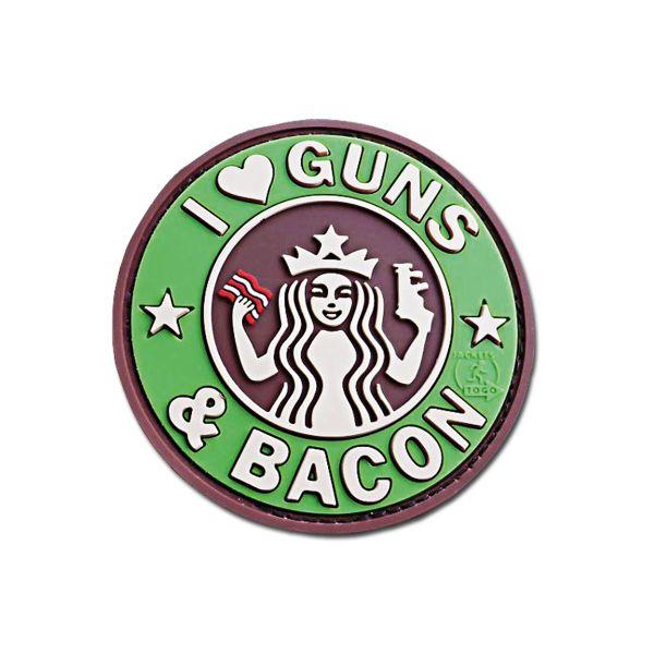 3D Patch JTG Guns and Bacon multicam