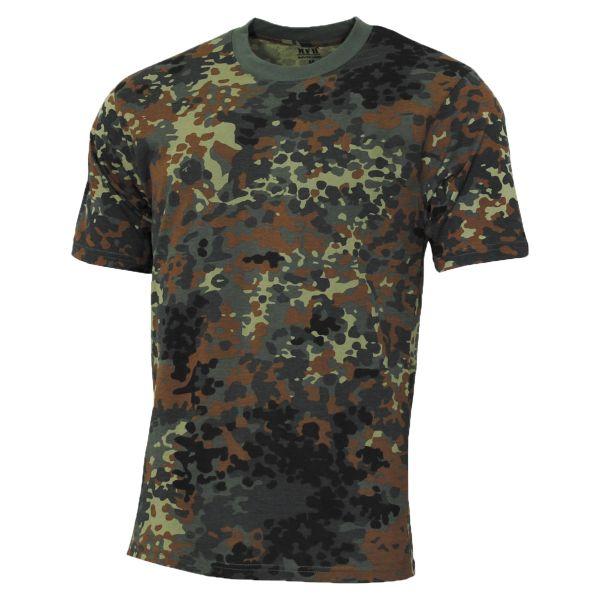 MFH T-Shirt US Street Style flecktarn