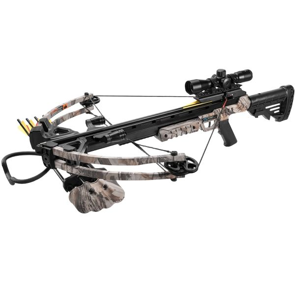 Man Kung Compound Crossbow Stalker camo
