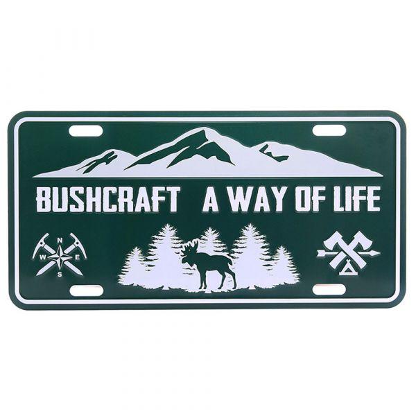 101 Inc. License Plate Bushcraft