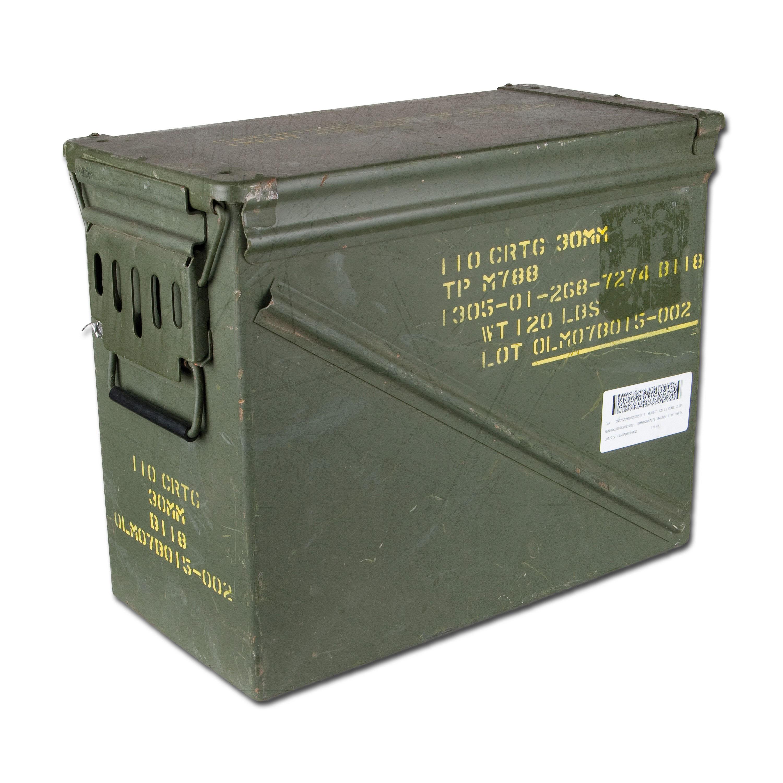 Ammo Box U.S. Size 7 Used Second Quality