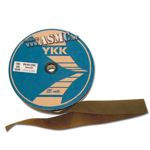 Velcro Band 50 mm olive bulk
