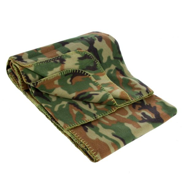 Fleece Blanket camo