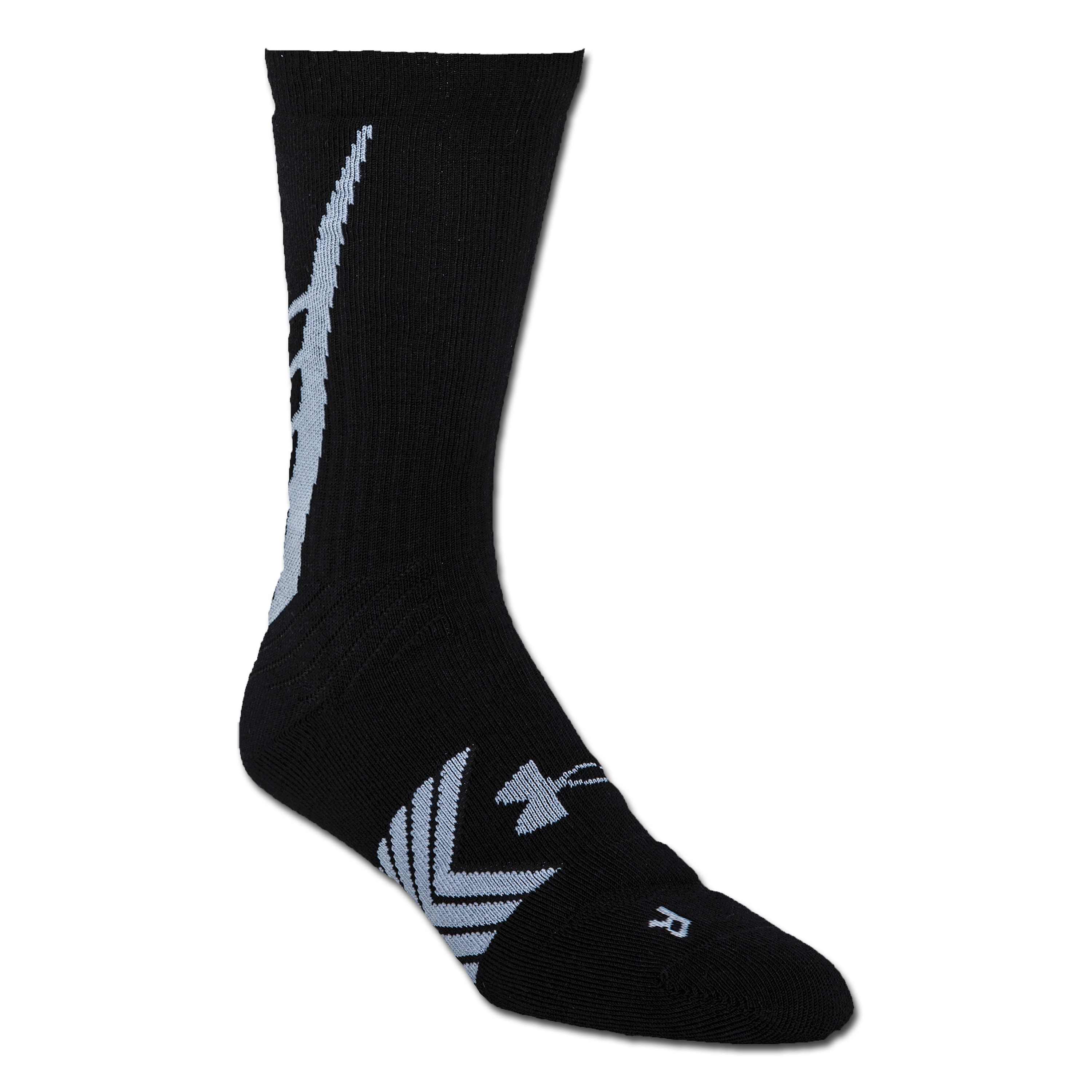Socks Under Armour Undeniable Crew black