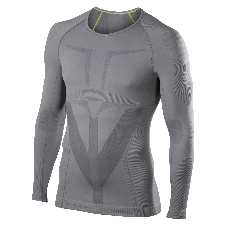 FALKE Long Sleeved Shirt Tight Fit gray