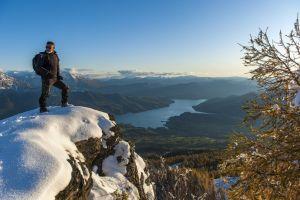 Hiking Alps Serre Ponçon Lake