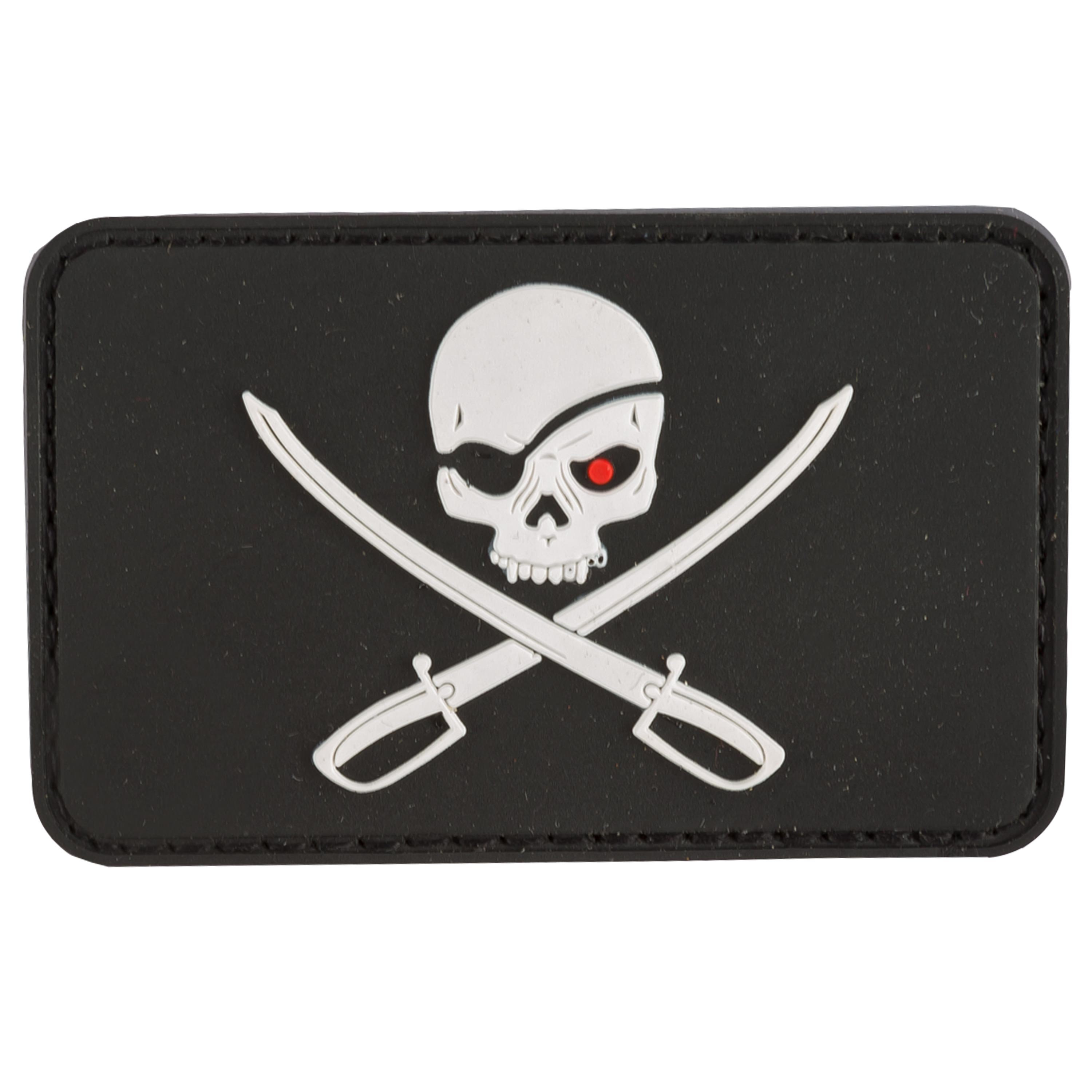 MFH 3D Patch Skull with Swords black