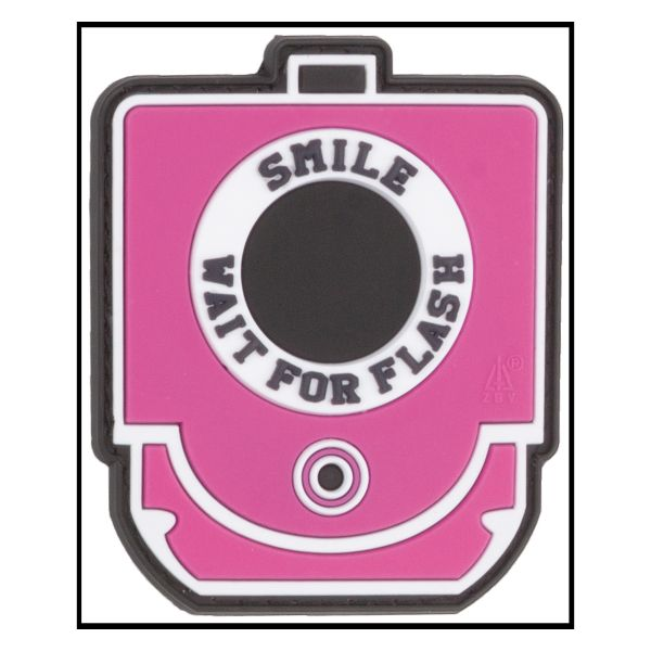 3D-Patch Smile and Wait for Flash pink