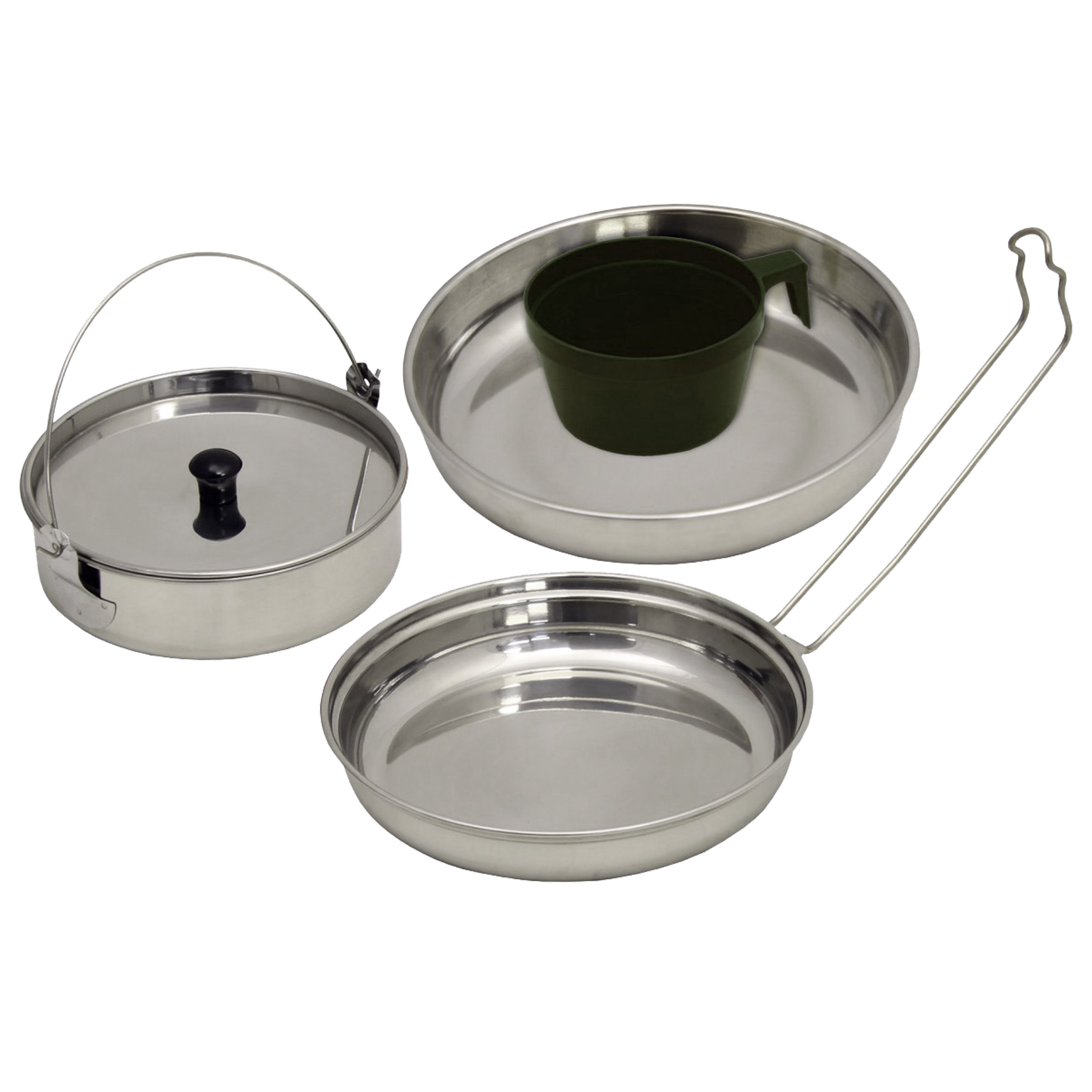 Piece Stainless Steel Cookware Set By Asmc