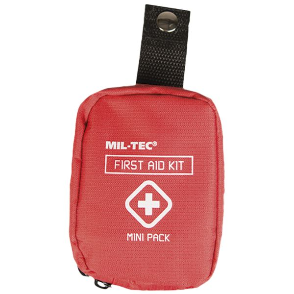 First Aid Pack Mini red