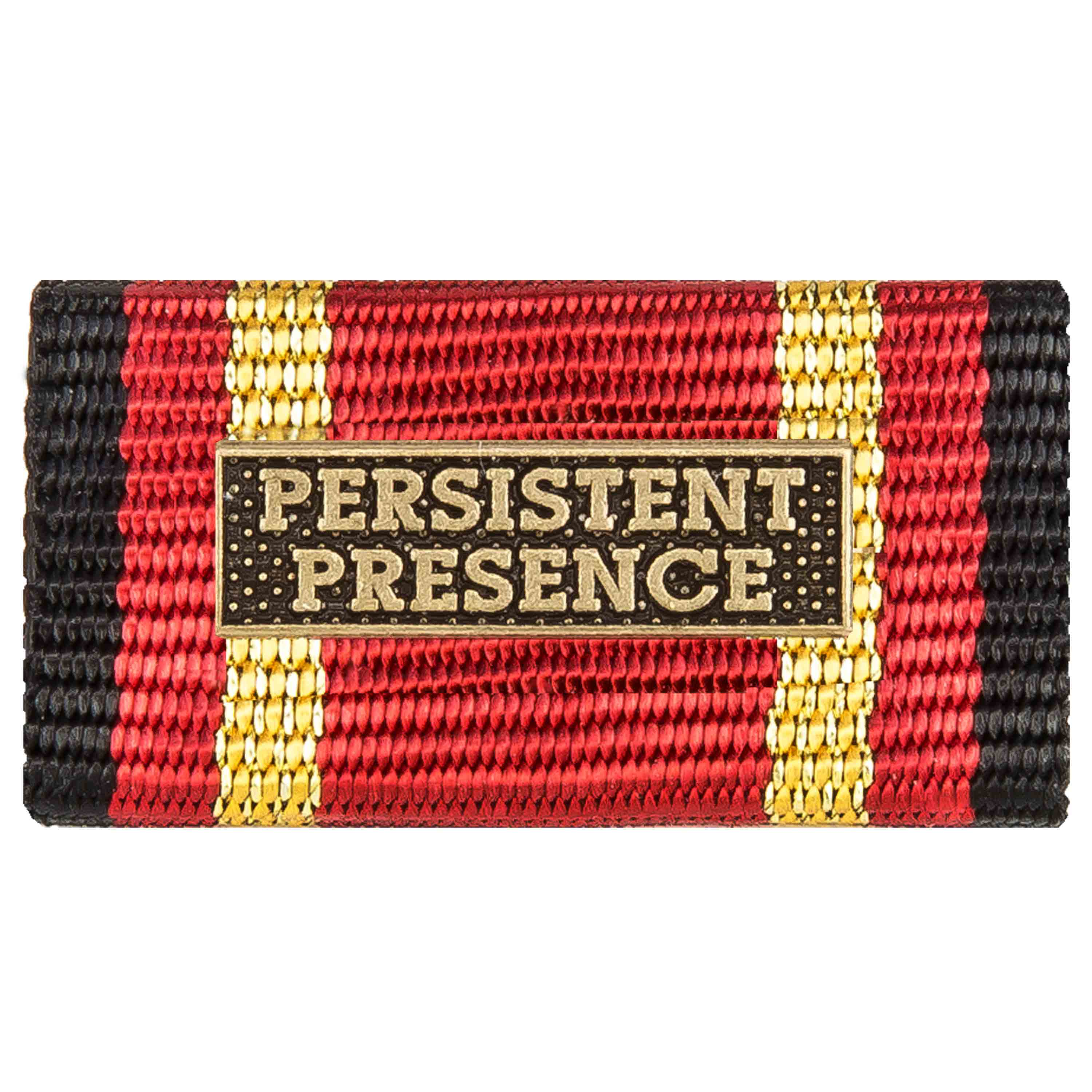 Service Ribbon Deployment Operation PERSISTENT PRESENCE bronze