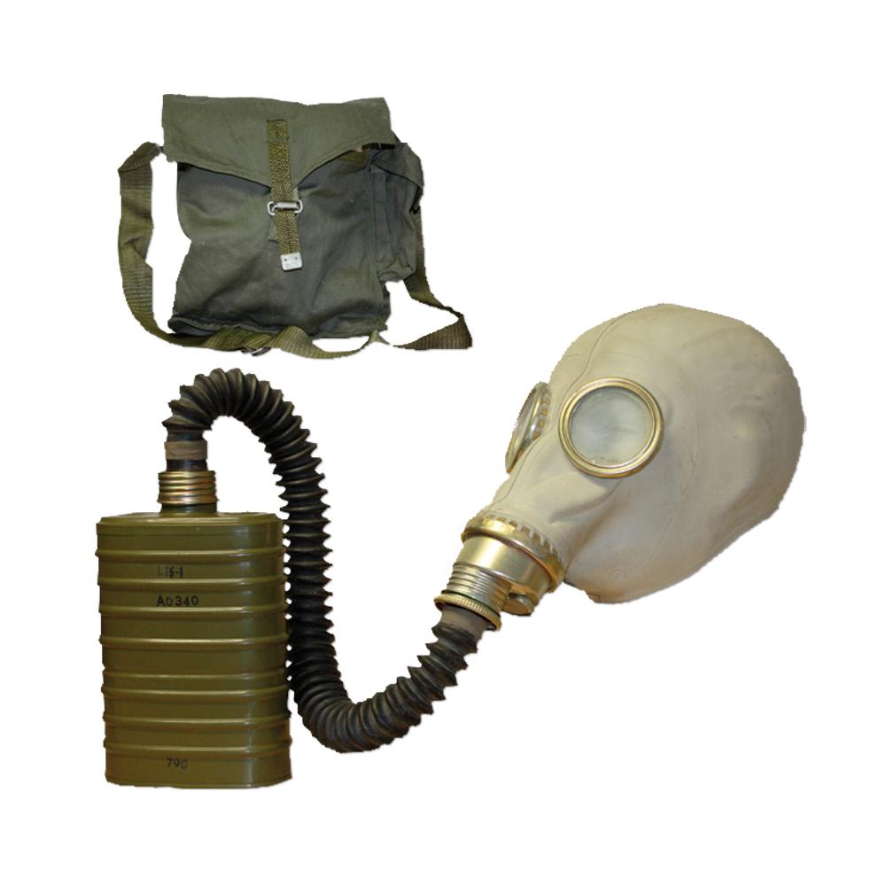 Used Polish Respirator Mask Sz M41 gray