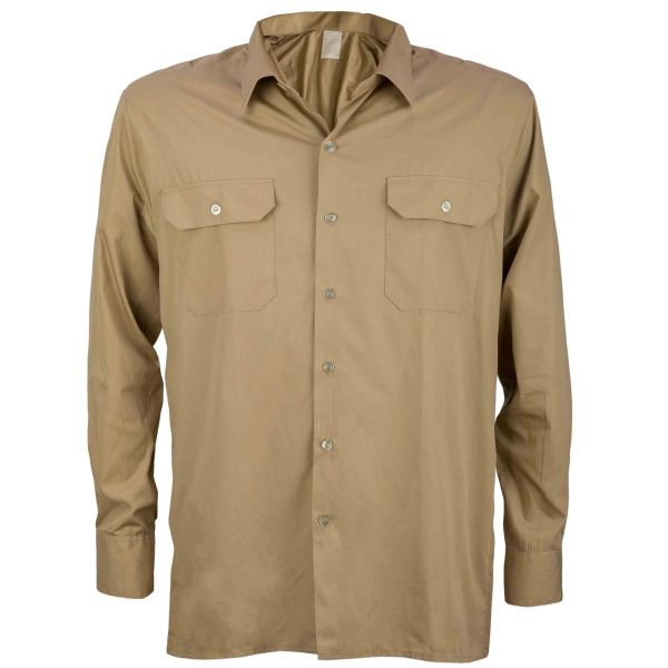 Used BW Service Shirt Tropical khaki
