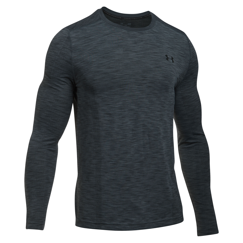 Under Armour Fitness Seamless Threadborne LS gray/black