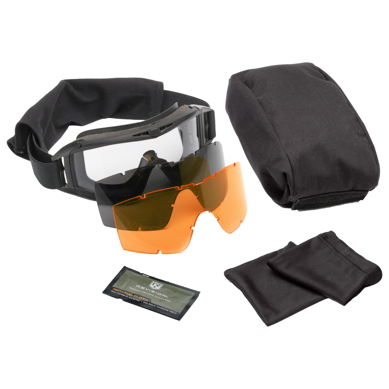 Revision Goggles Asian Locust Deluxe black/orange lens