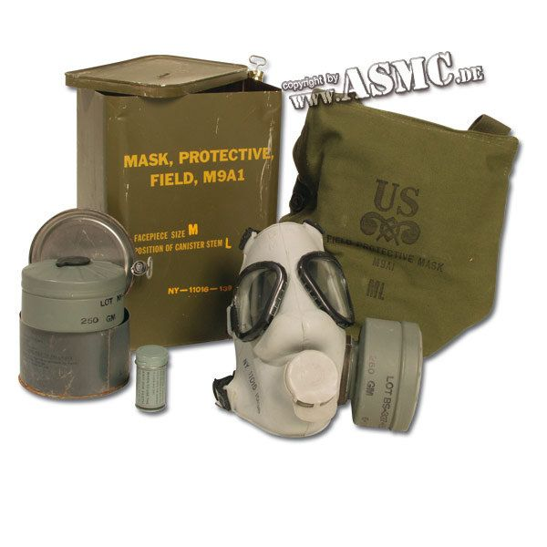 U.S. Gas Mask M9A1