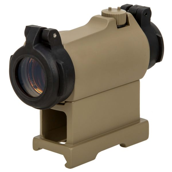 Aim-O RD-2 Red Dot Sight with QD Montage desert