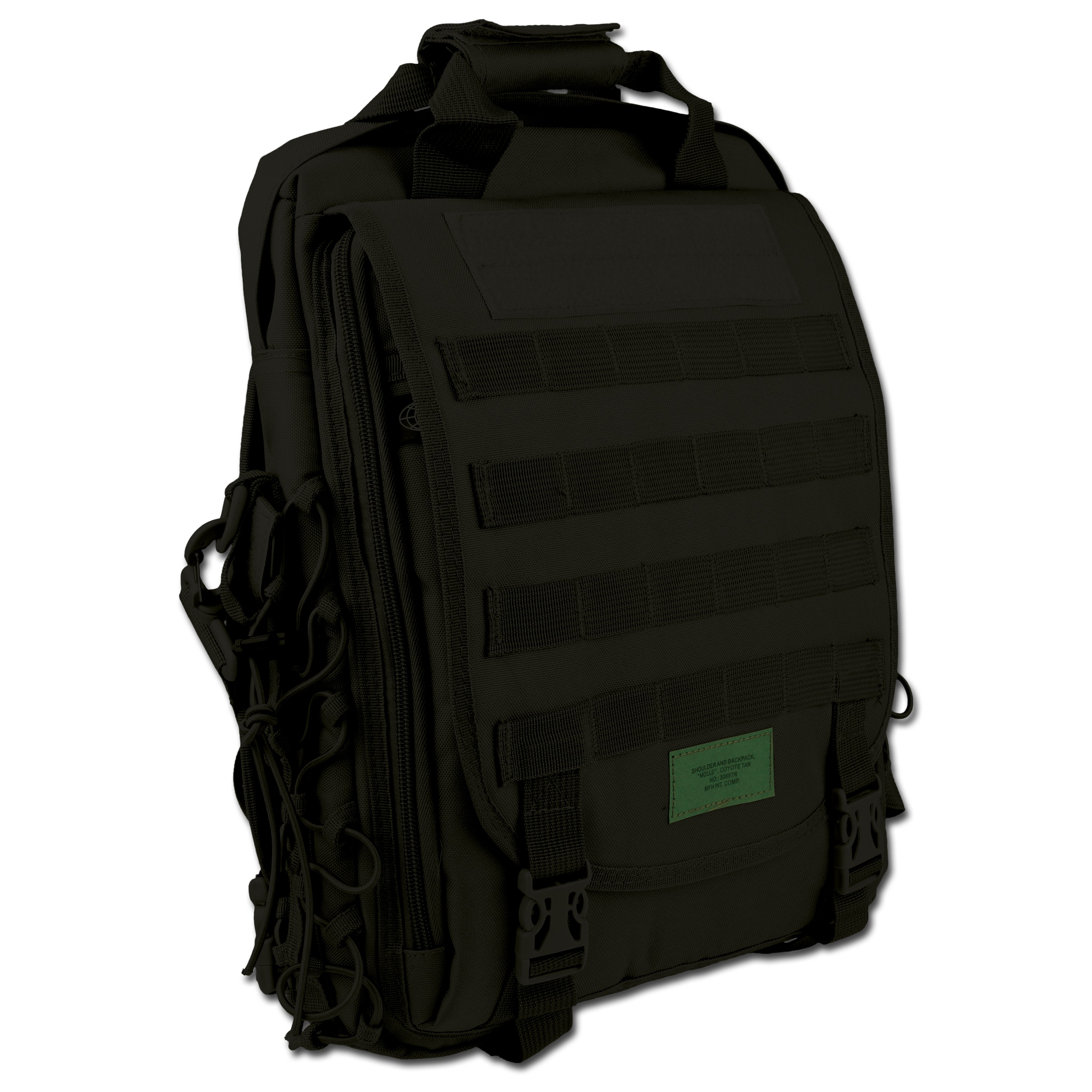 Backpack MFH Molle black