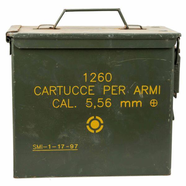 Used US Ammunition Box PA19 Cal. 5.56