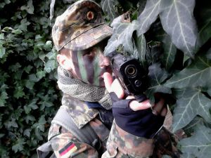 Casquette militaire BW flecktarn
