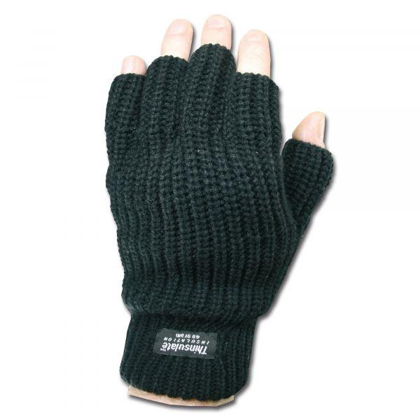Fingerless Gloves Thinsulate black