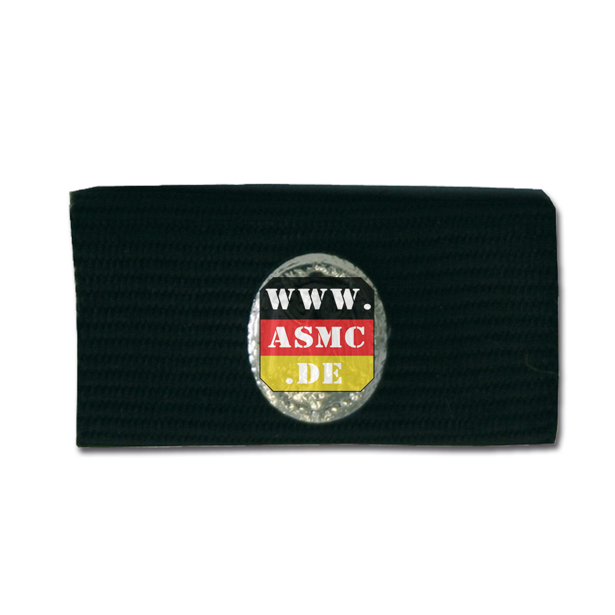 Service ribbon Achievement badge silver/ black