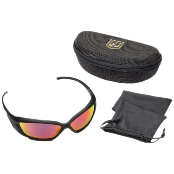 Sunglasses Revision Hellfly black/flame mirror