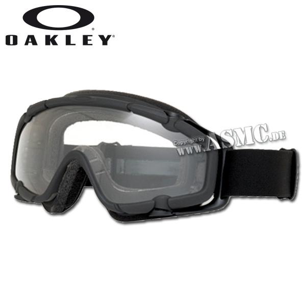 Oakley S.I. Ballistic Goggle black/clear