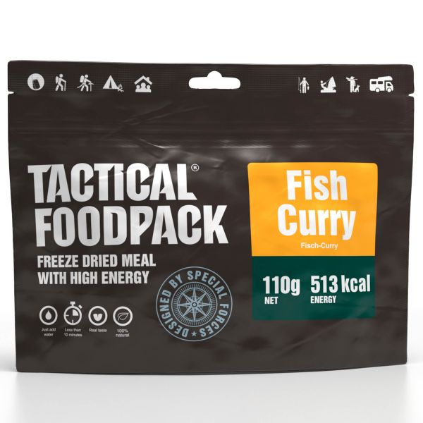 Tactical Foodpack Freeze Dried Meal Fish Curry