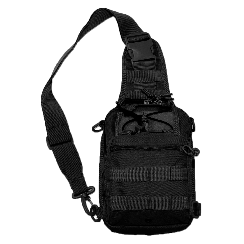 Shoulder Bag MFH Molle black