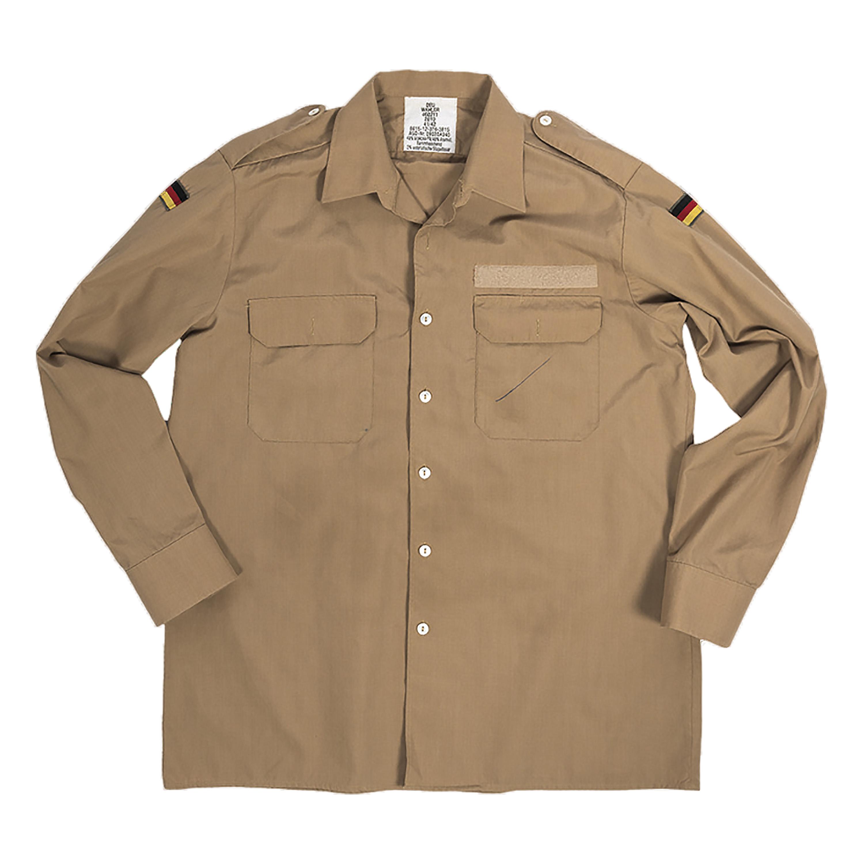 BW Tropical Naval Shirt Used khaki