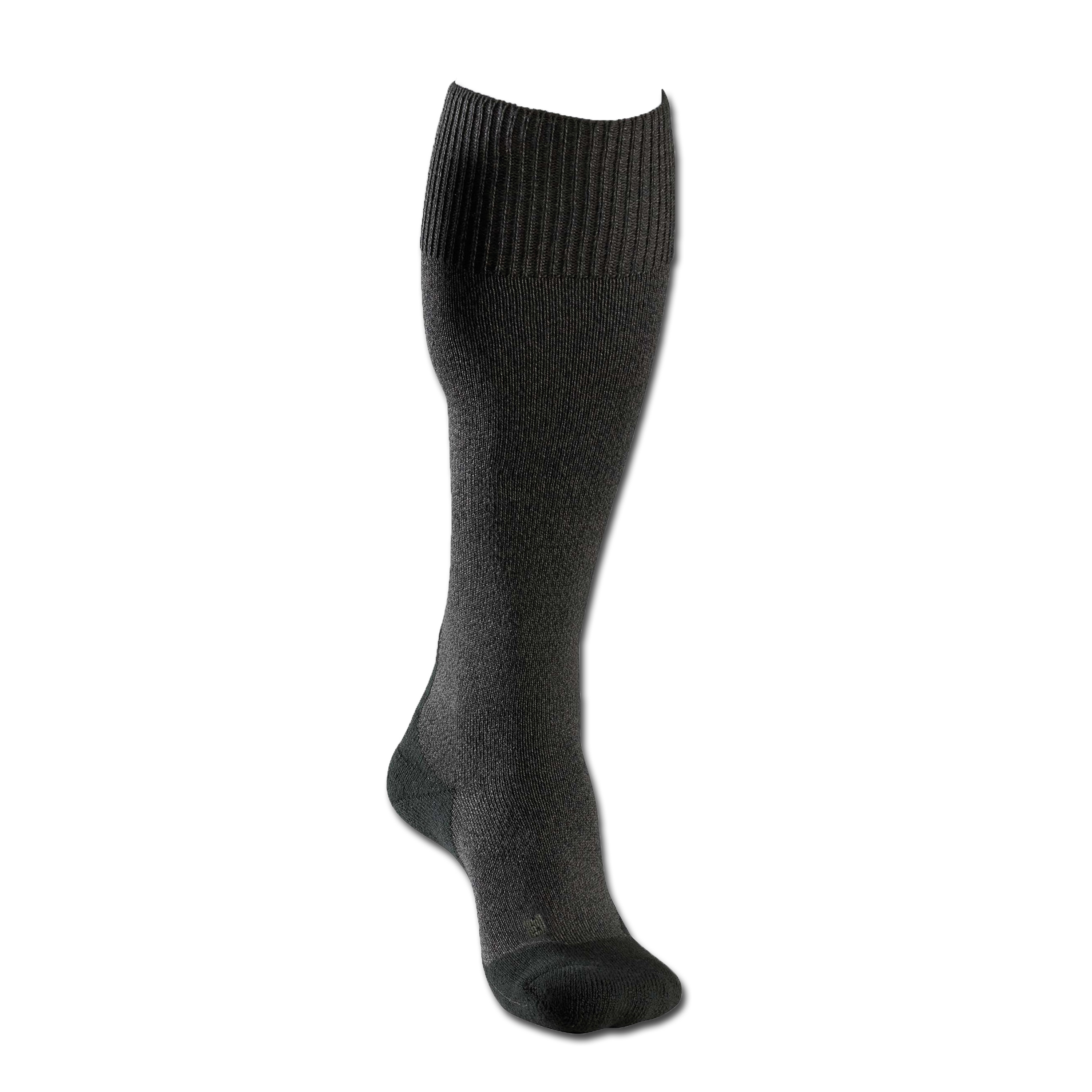 Socks Men Falke TK1 Wool Long charcoal gray