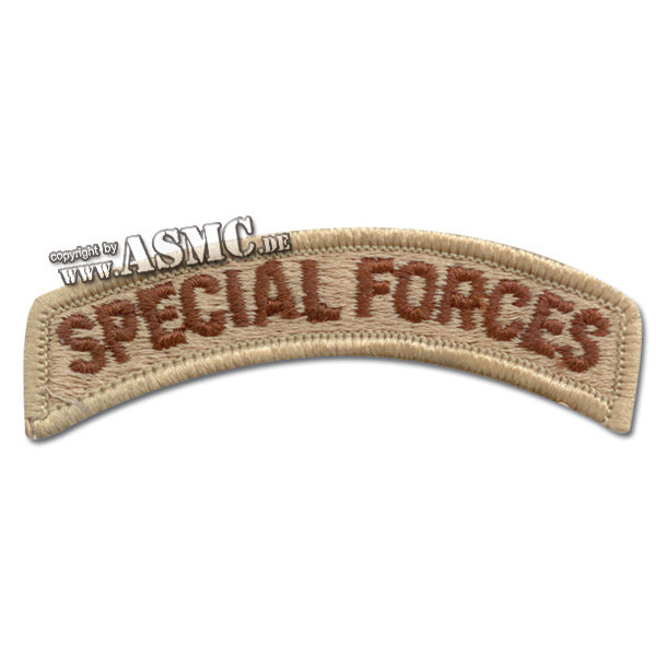 Insignia Tab Special Forces desert