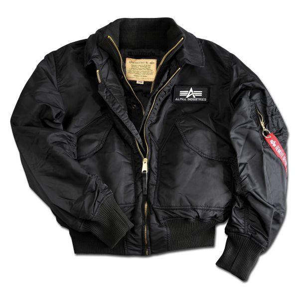 Alpha Flight Jacket X-Force black