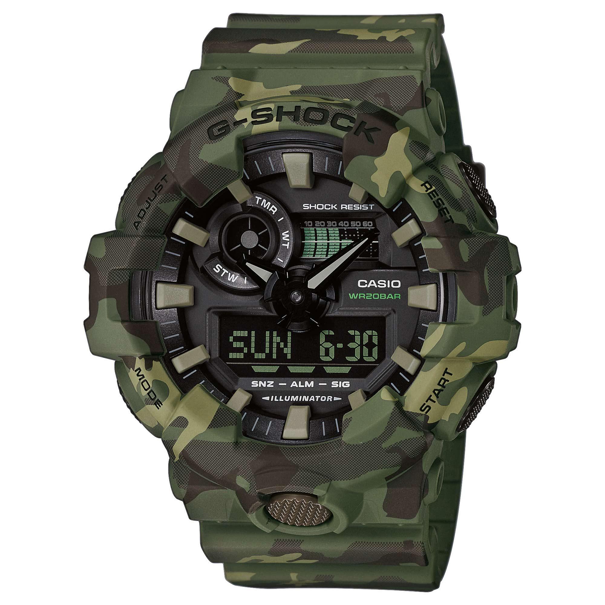 Casio Watch G-Shock Classic GA-700CM-3AER woodland
