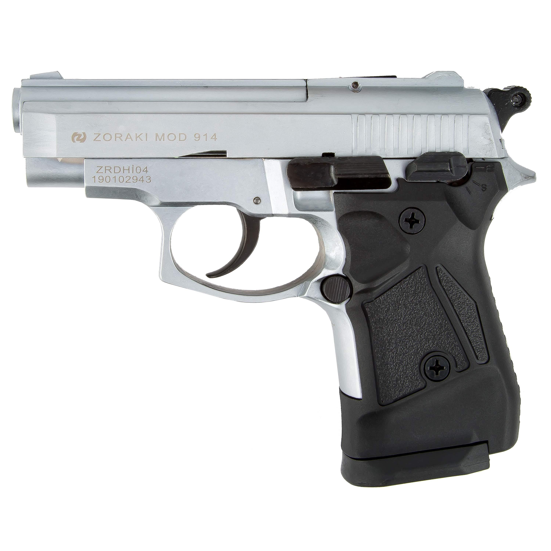 Zoraki Blank Pistol 914 chrome matt