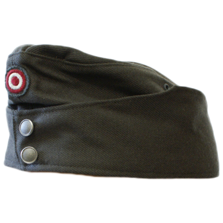 Austrian Garrison Cap with Textile Cockade gray