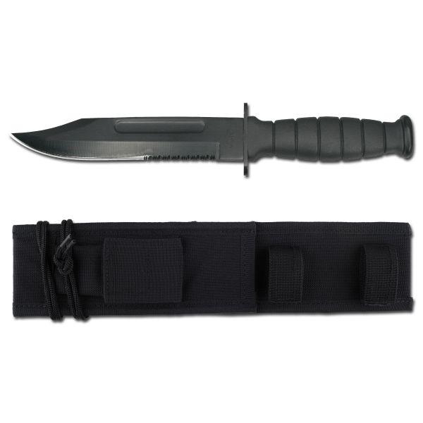 Knife US ARMY With Sheath black