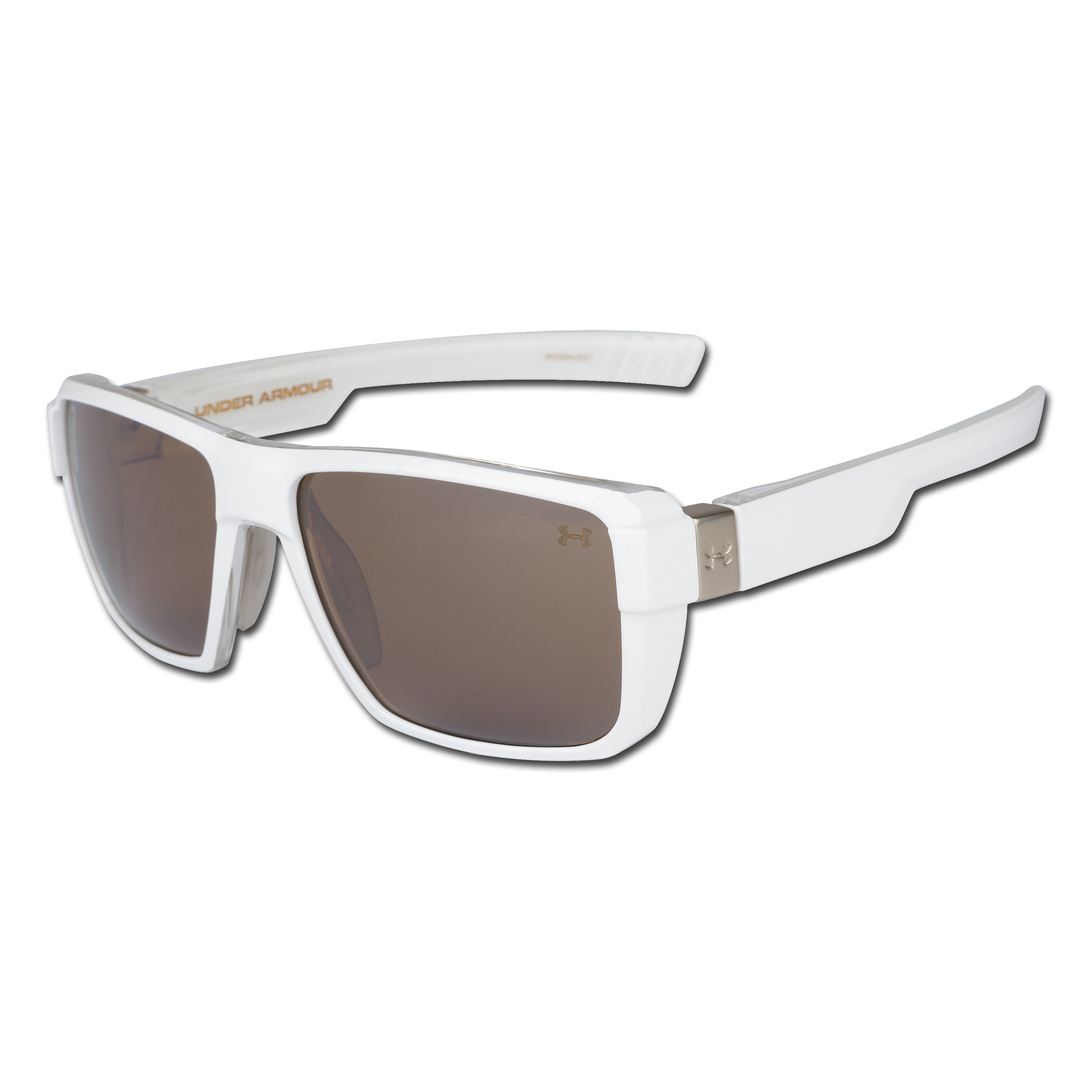 Sunglasses Under Armour Recon white/brown