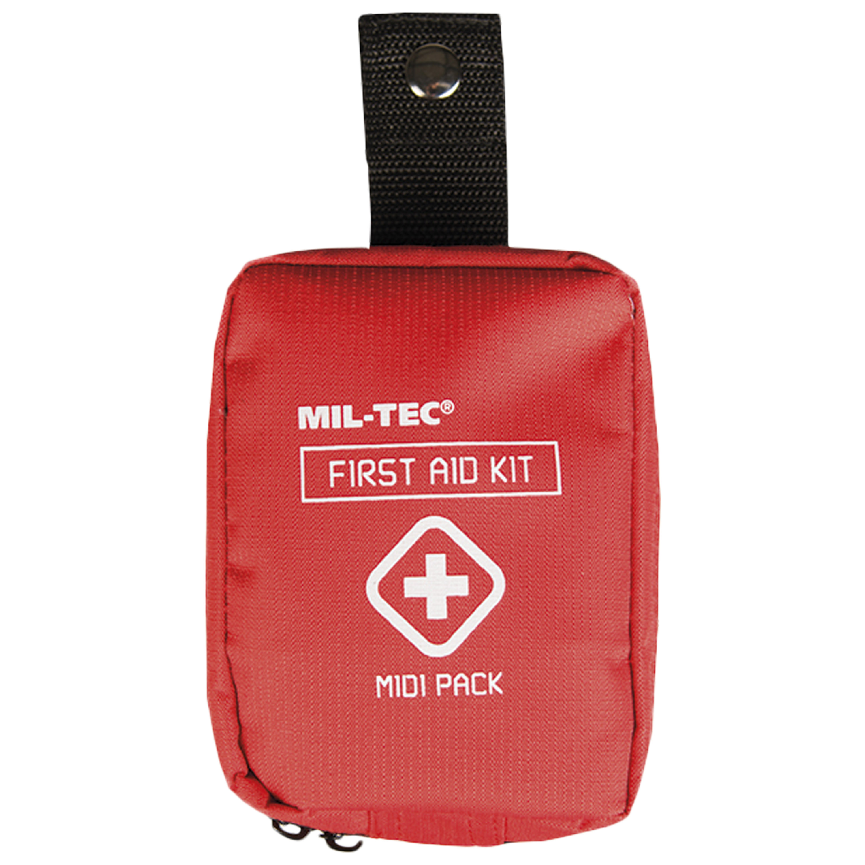 First Aid Pack Midi red