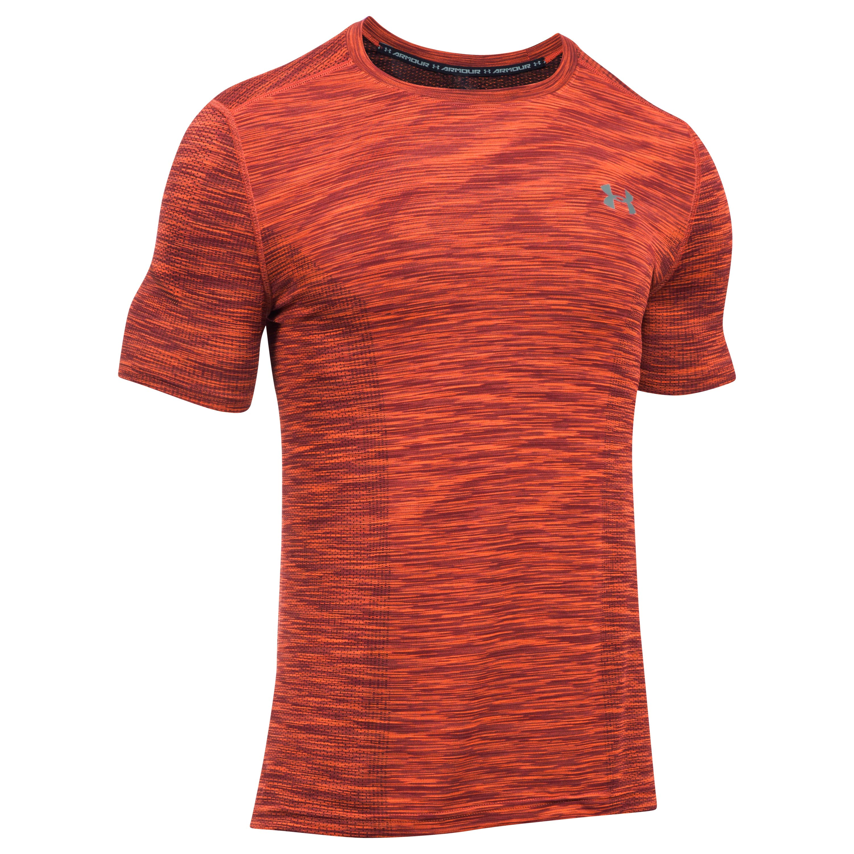 Under Armour Fitness Shirt Threadborne red/black