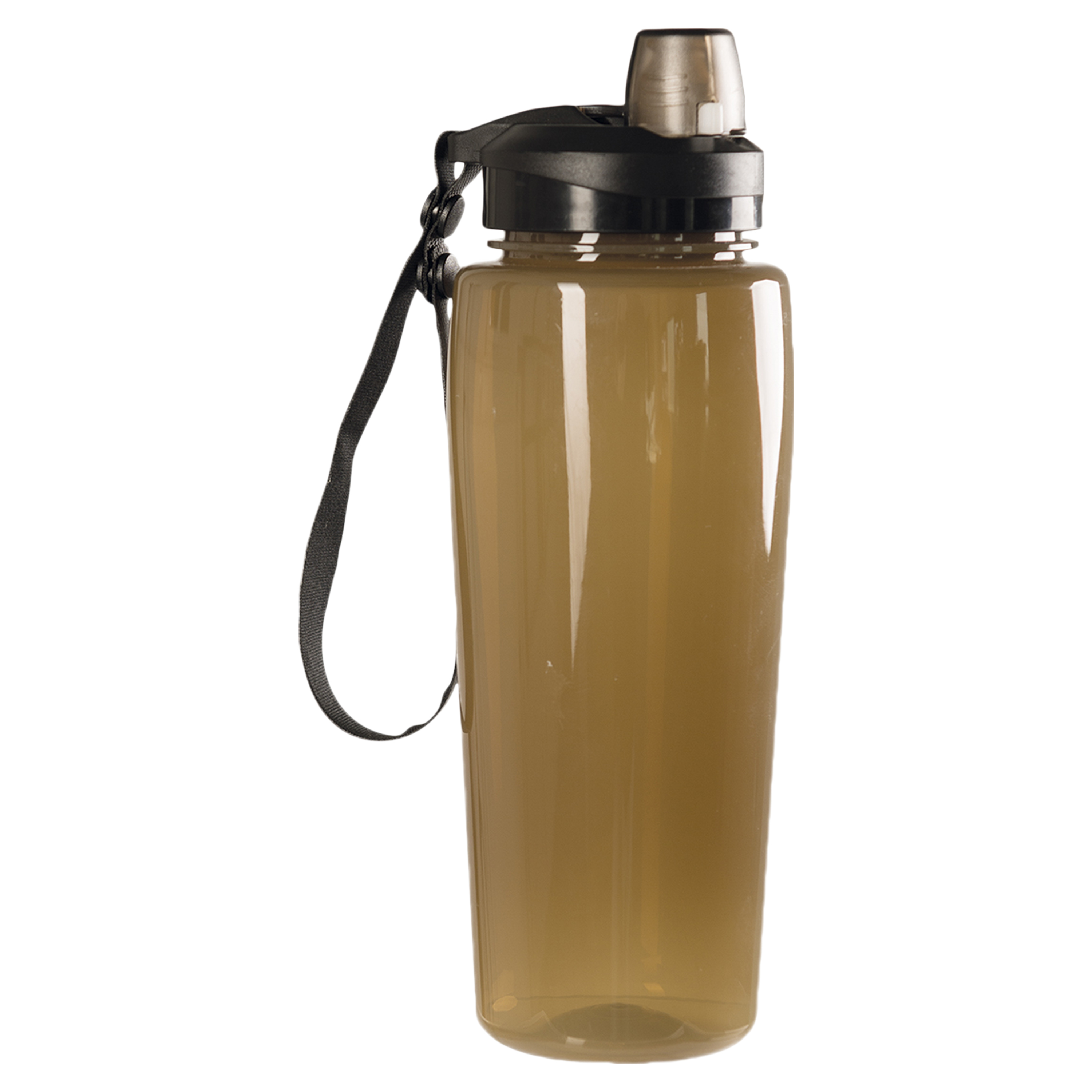 Mil-Tec Water Bottle transparent coyote