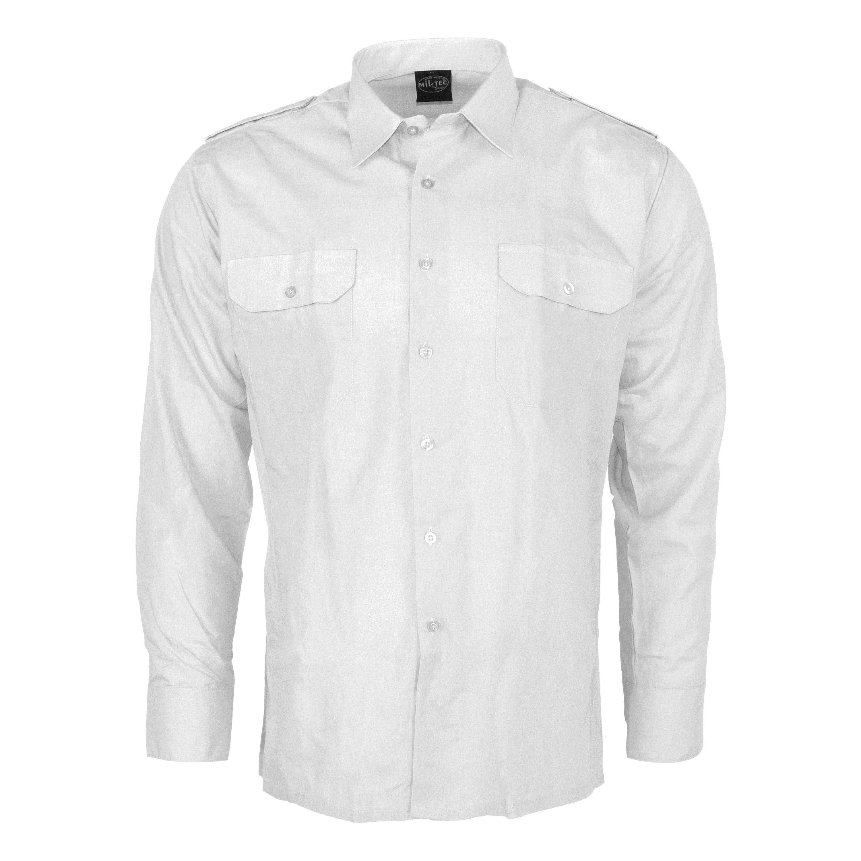 Service Shirt Long Sleeve white
