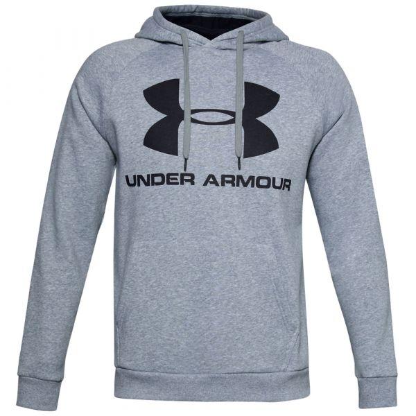 Under Armour Hoodie Fleece Sportstyle Logo steel light heather