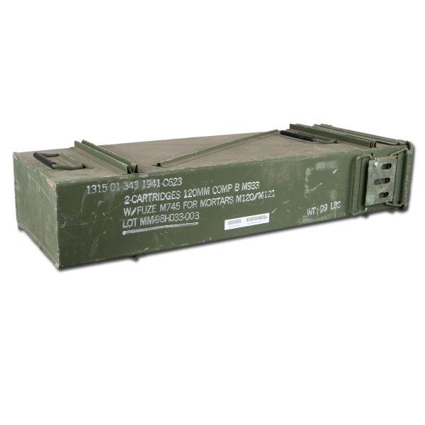 US ammo box size 6 used