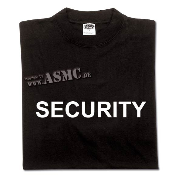T-Shirt Security frontprint
