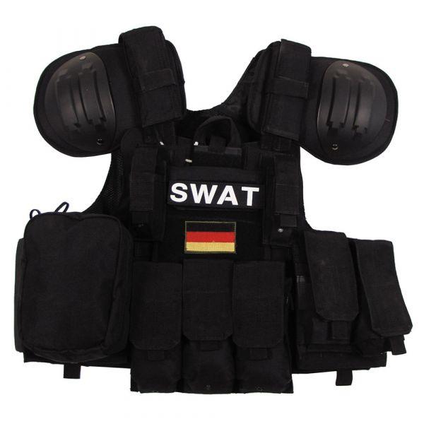 MFH Combat Vest black