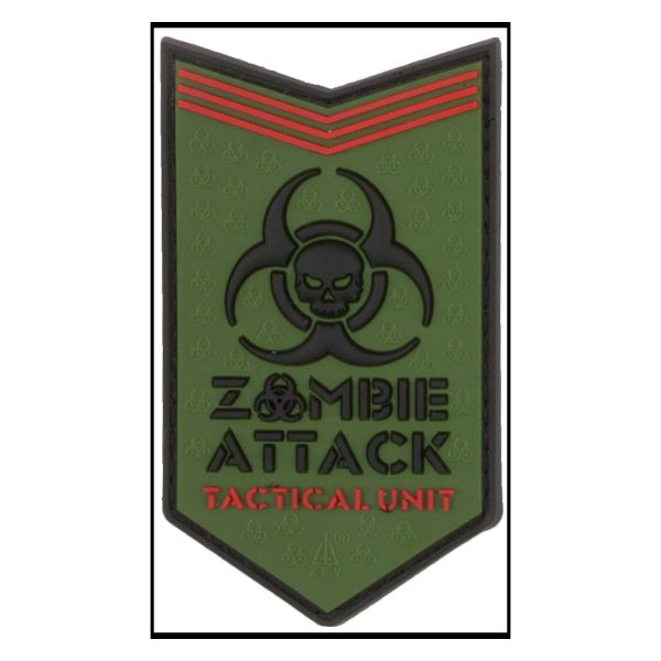 3D-Patch Zombie Attack forest